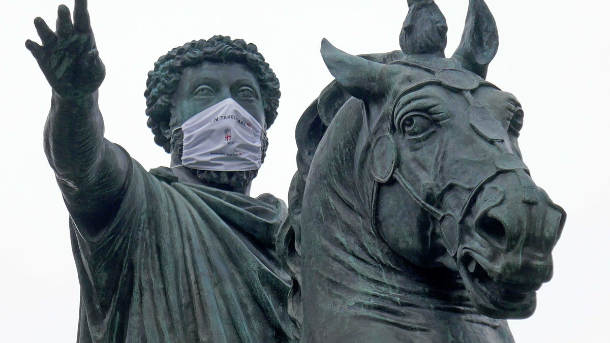 Self-Loathing Students remove statues of great Romans