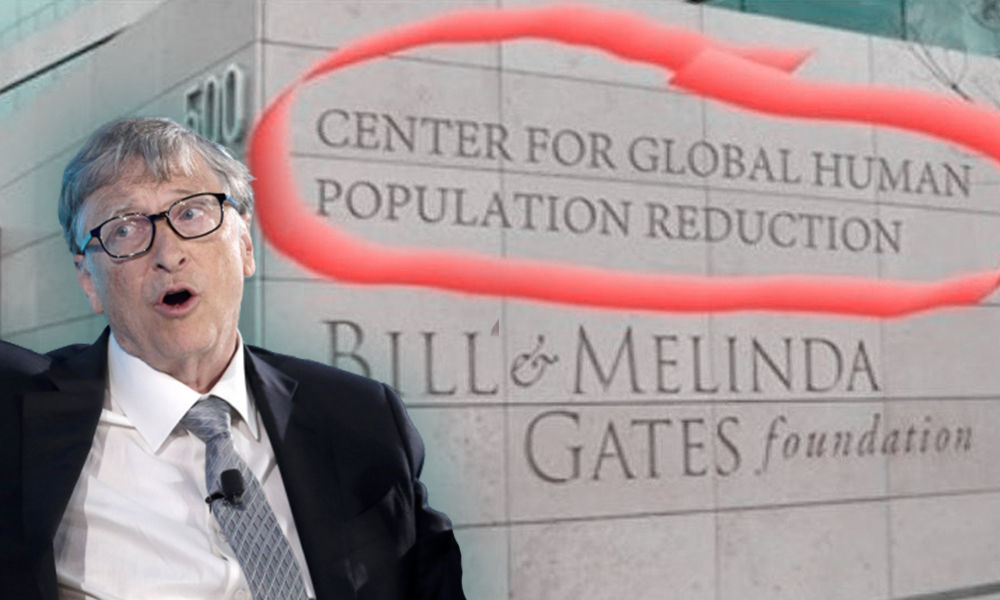 At What Point Do We Realise Bill Gates Is Dangerously Insane?