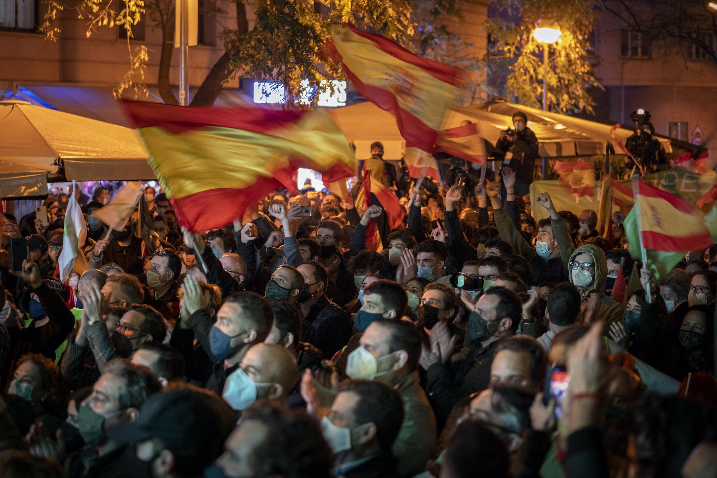 Unrest Signals Civil War II in Spain