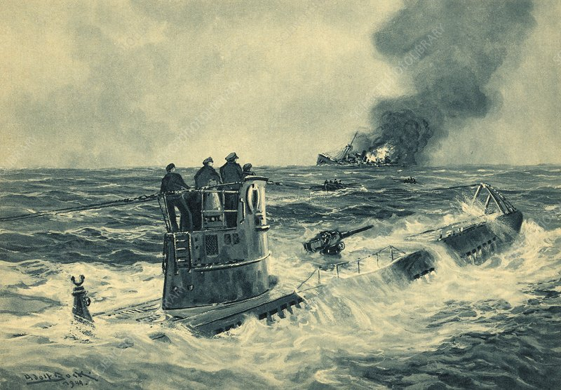 Rescued by a German Submariner