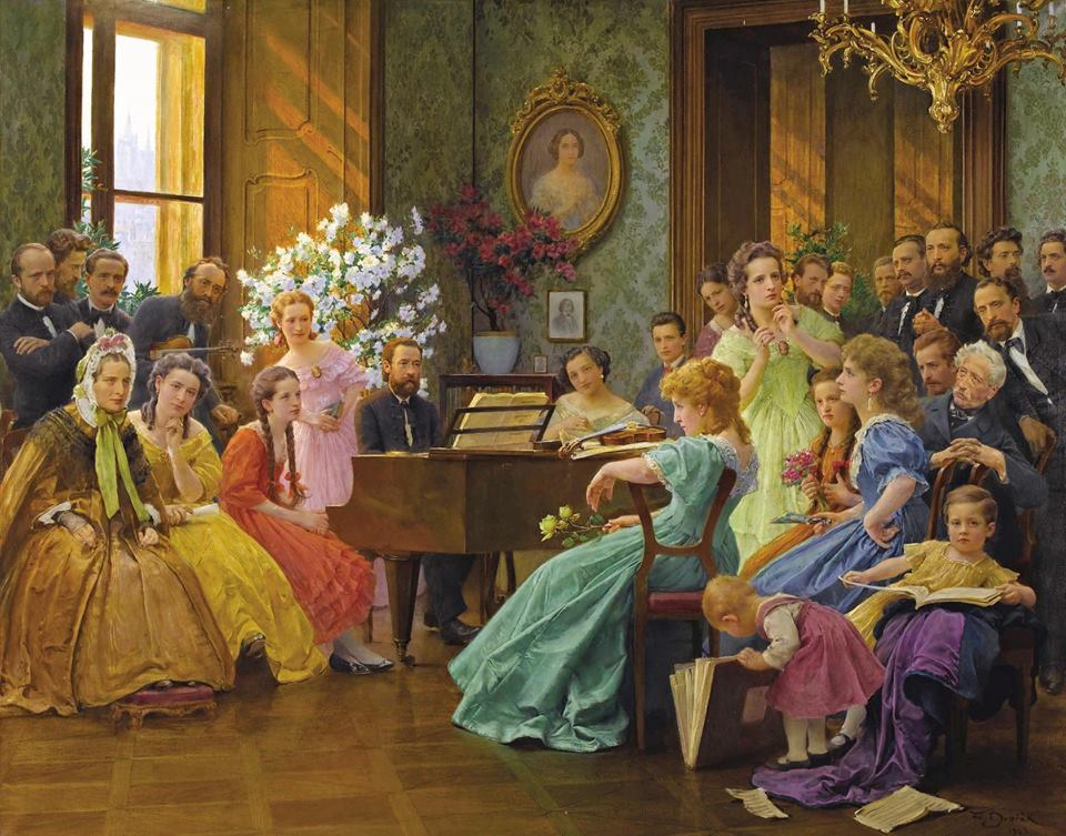 The graceful age of parlour music