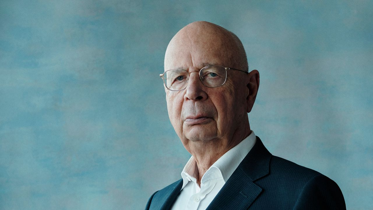 The people say Klaus Schwab WEF absolutely stark staring insane