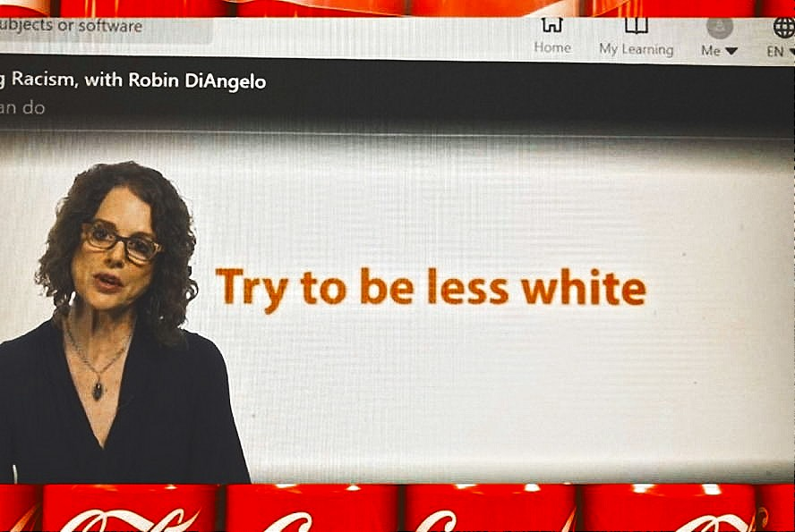 Coca-Cola is toxic anti-White