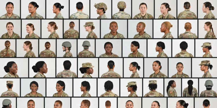 Gender-Bender Depleted US Armed Forces