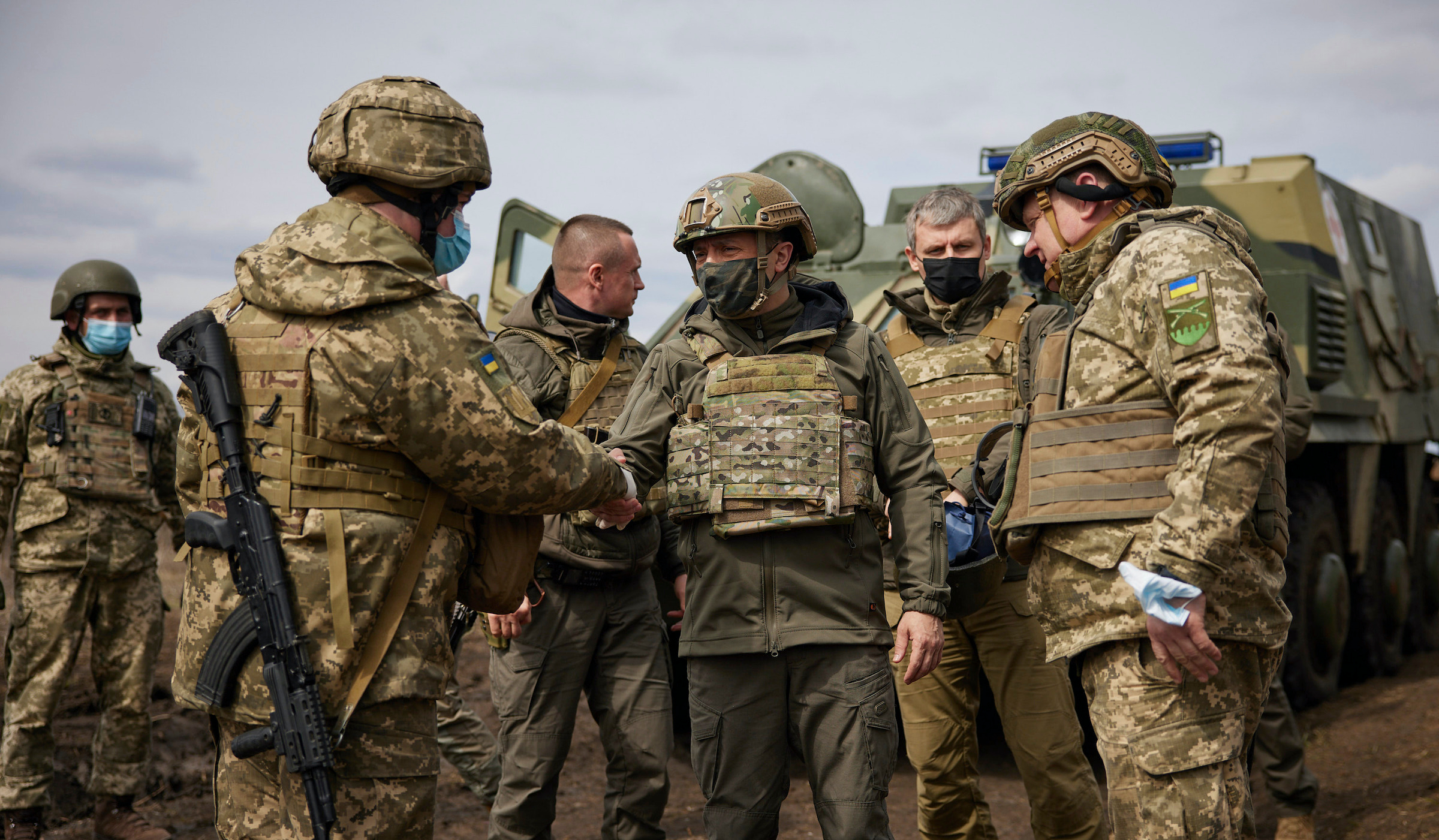 Russian Build-up of troops on Ukraine's Frontiers