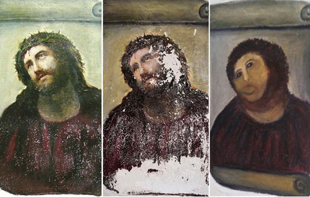 7 Precious Artworks Ruined by Human Intervention