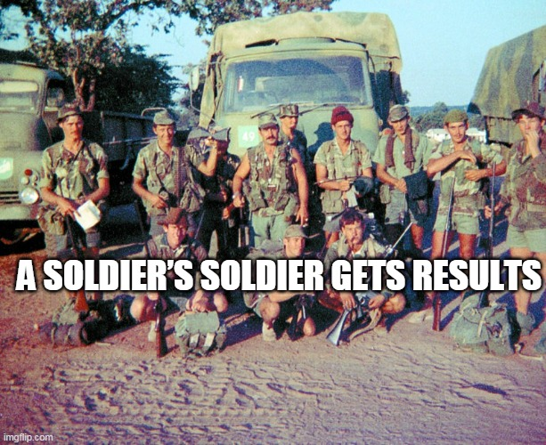 A Soldier's Soldier Gets Results