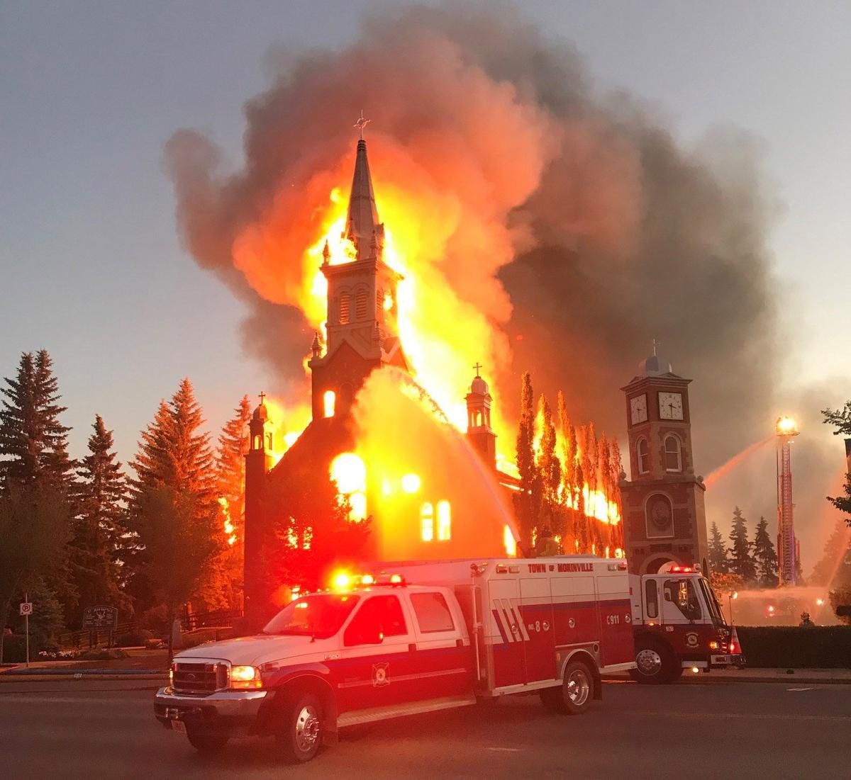 Churches being burned in Canada