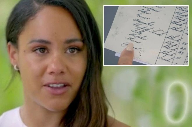 Alex Scott in tears as she learns her ancestor owned 26 slaves